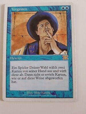 Vergessen Magic*6. Edition*excellent *Rare