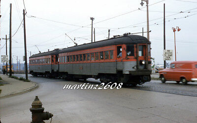 Orig. Traction / Trolley Slide Cns&m (Chicago, Il) 734  Rbk