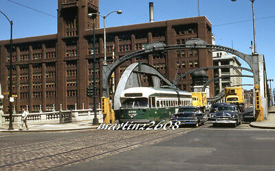 Orig. Traction / Trolley Slide Cta (Chicago, Il) 4396
