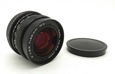 Superb Carl Zeiss 29mm F2.8 MC Wide Angle M42 Screw Mount Lens, Mint with Caps