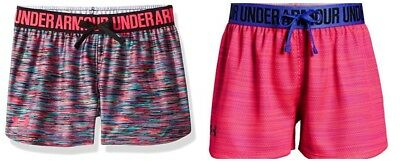 New Under Armour Girls Play Up Novelty Shorts MSRP $25.00 Choose Color and Size