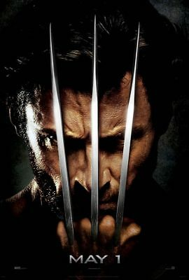 X-men Origins Wolverine - Logan - original DS movie poster - 27x40 D/S Adv