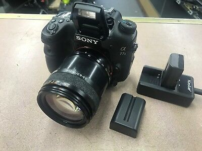 Sony Alpha a77 II 24.3MP Digital SLR Camera Lens 18-200