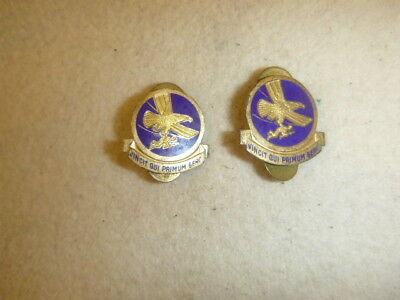 Scarce Ww 2 Pair Of Airborne Troop Carrier Squadron Di's, Levelle & Co Maker