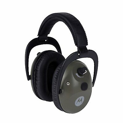 NEW Motorola MHP71 Talkabout Electronic Earmuff hearing protection w PTT