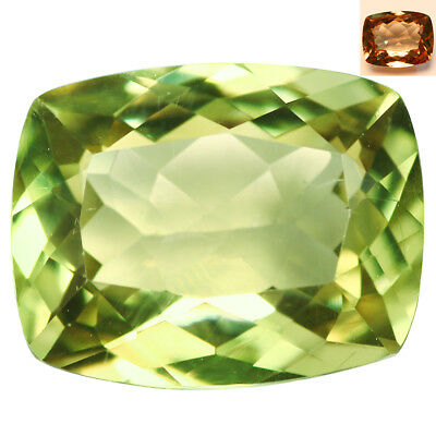 3.88Ct Charming Cushion Cut 11 x 8 mm AAA Color Change Turkish Diaspore