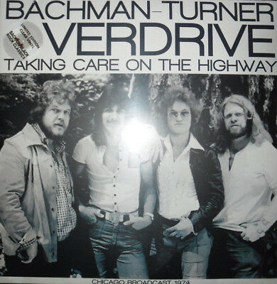 Bachman-Turner Overdrive  -  Taking Care On The Highway  Clear Vinyl  UK   NEW