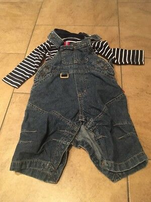 H&M Baby Boys Dungaree Outfit 4-6 Months
