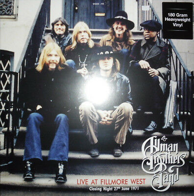 Allman Brothers  -  Live At Fillmore West  2 LP's  180g   NEW