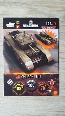 World of Tanks Trading Card Game Nr. 122