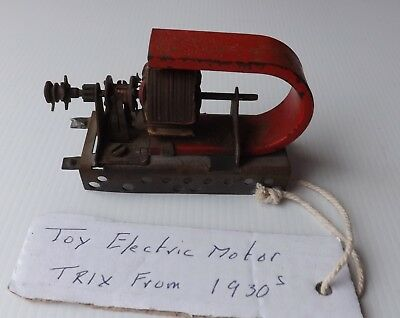 TRIX 1930,s toy electric motor