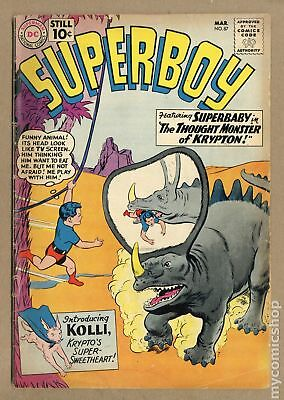 Superboy (1st Series DC) #87 1961 GD+ 2.5