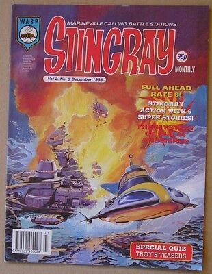 Stingray the Comic Vol 2 Issue 3 from December 1993