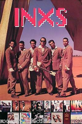 Inxs 1992 Welcome To Wherever You Are Promo Poster Original