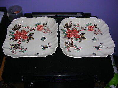 James Kent Old Foley Serving Dishes and Butter Dish
