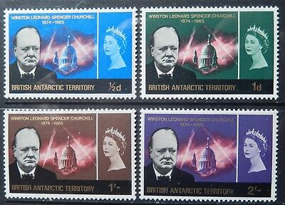 British Antarctic Territory Scott # 16-19 Set, Mint Original Gum (HR)