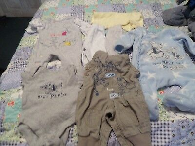 disney baby bundle 0/3 monthes see pics used
