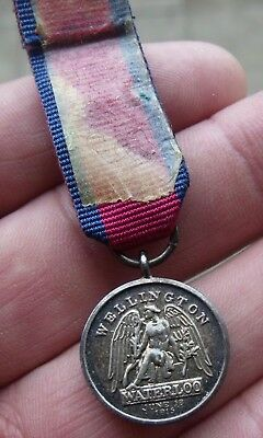 A Miniature 1815 Waterloo Medal, Has Some Age But Not Period.