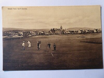 Angus. Edzell From The Golf Course. 1919. Publ.  Mathers Emporium.