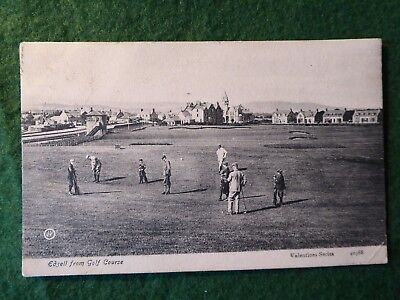 Angus. Edzell From The Golf Course. 1905.  Valentines 40388.