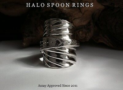 Chunky Georgian Solid Silver Spoon Ring 1813 Assay Approved Only One Available