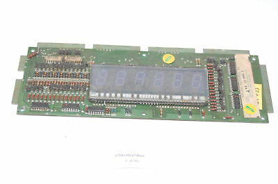 Numerisches Display mit Board Williams Flipper (P4795)