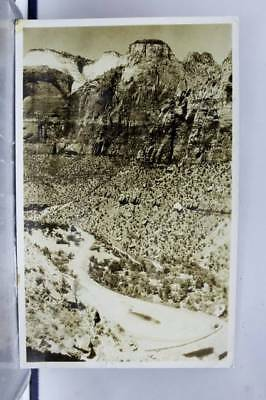Utah UT Zion National Park Postcard Old Vintage Card View Standard Souvenir Post