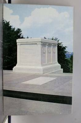 Virginia VA Arlington National Cemetery Unknown Soldiers Tomb Postcard Old View