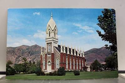 Utah UT Brigham City LDS Tabernacle Postcard Old Vintage Card View Standard Post