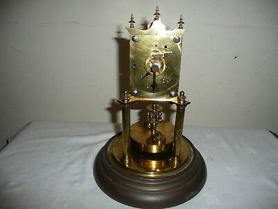 Juf Standard Early Anniversary Clock With Disc Pendulum For Parts or Restoration