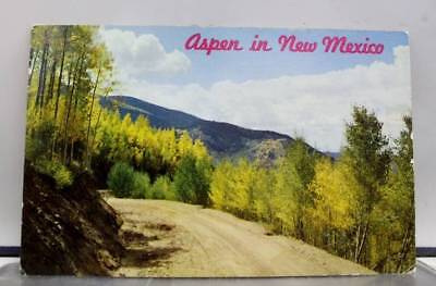 New Mexico NM Aspen Fall Red River Postcard Old Vintage Card View Standard Post