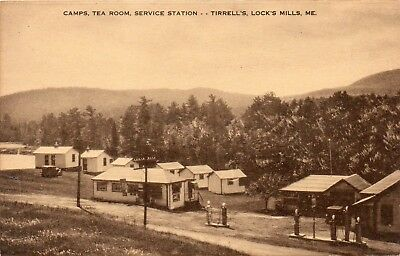 Camps Tea Room Service Station At Tirrell's ~ Lock's Mills Me