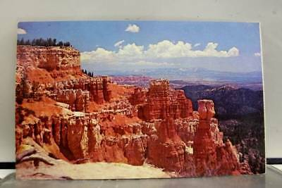 Utah UT Bryce Canyon National Park Agua Point Postcard Old Vintage Card View PC