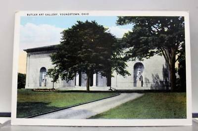 Ohio OH Butler Art Gallery Youngstown Postcard Old Vintage Card View Standard PC