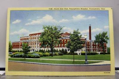 Ohio OH Hospital of Youngstown Postcard Old Vintage Card View Standard Souvenir