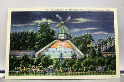 Ohio OH Old Mill Idora Park Youngstown Postcard Old Vintage Card View Standard