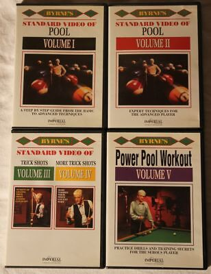 4 Pool Billiard Lehr-DVDs Byrne's