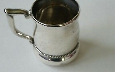Antique 1896 Sterling Silver Whiting & Co. Trophy Cup 133gr NR