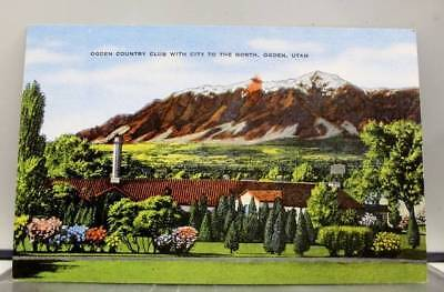 Utah UT Ogden Country Club Postcard Old Vintage Card View Standard Souvenir Post