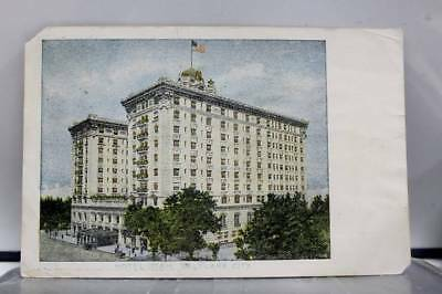 Utah UT Hotel Utah Salt Lake City Postcard Old Vintage Card View Standard Post