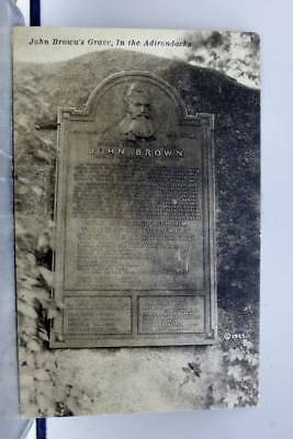 Scenic John Brown Grave Adirondacks Postcard Old Vintage Card View Standard Post