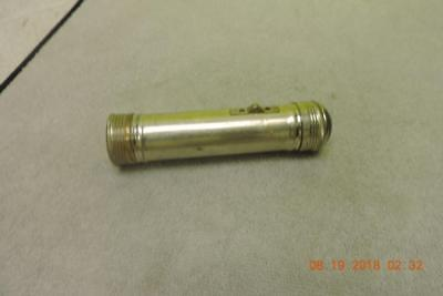 Antique 1920s Rexall Drug Store Advertising Flashlight Sold Only At Rexall Store