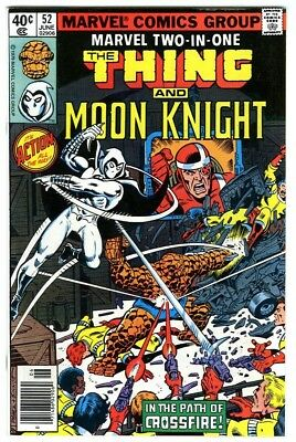 Marvel Two-In-One #52 (1979) NM- New Marvel Bronze Copper Collection Moon Knight