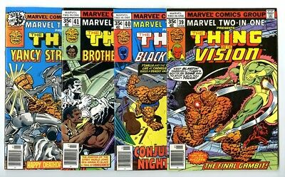 Marvel Two-In-One #39,40,41,47 Avg VF/NM New Marvel Bronze Copper Collection