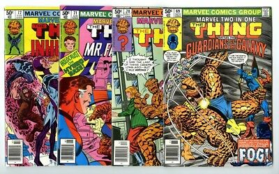 Marvel Two-In-One #69,70,71,72 Avg NM- New Marvel Bronze Copper Collection