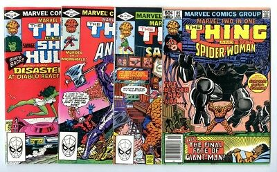 Marvel Two-In-One #85,86,87,88 Avg NM New Marvel Bronze Copper Collection