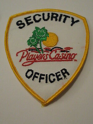 Players Casino Security Officer Patch