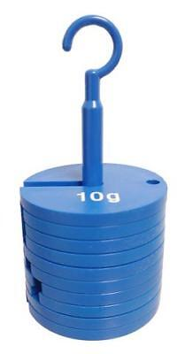 Slotted Weight Set, Plastic, Weight Hanger