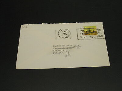 Zimbabwe 1972 cover to Finland *3030