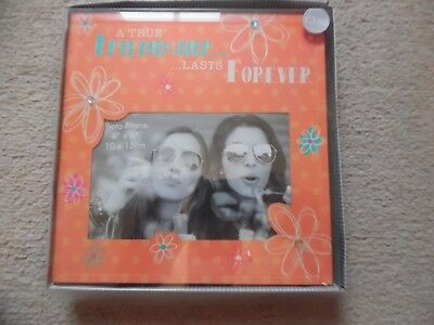 Reflections Glass Photo Frame True Friendship New Boxed